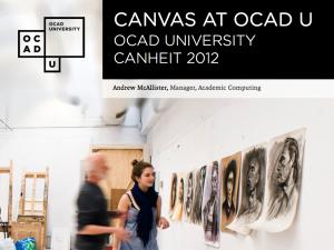 Canvas Presentation